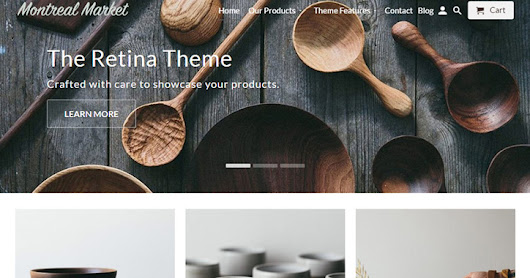 20 Best Premium Paid Shopify Ecommerce Themes - Vandelay Design