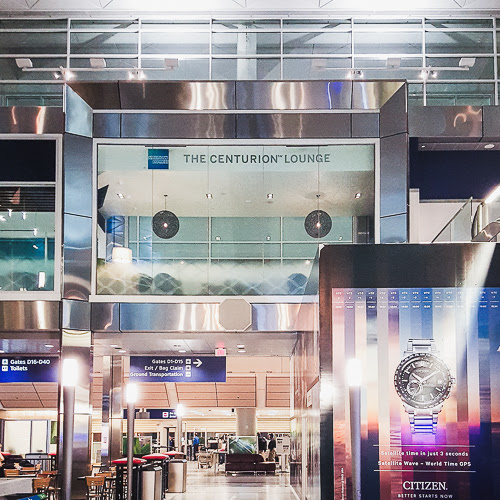 Review: AMEX Centurion Lounge DFW | The Wanderlust Bear