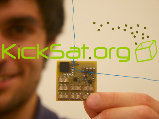 Update 58: Launch Update and Ground Station Info · KickSat -- Your personal spacecraft in space!