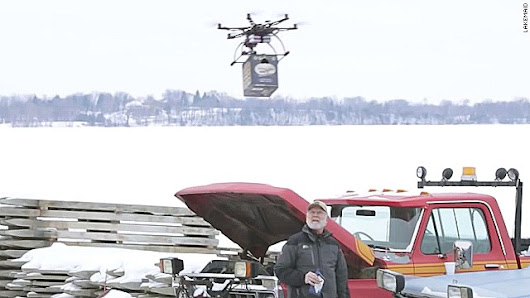 Beer-delivery drone grounded by FAA