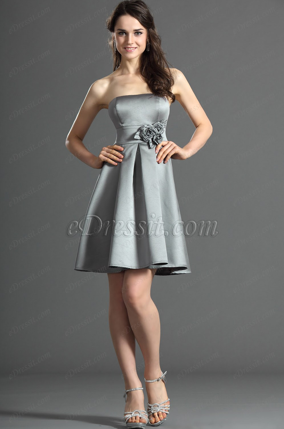 eDressit Strapless Bridesmaid Dress Cocktail Dress