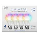Feit WiFi Smart Bulbs 4-pack