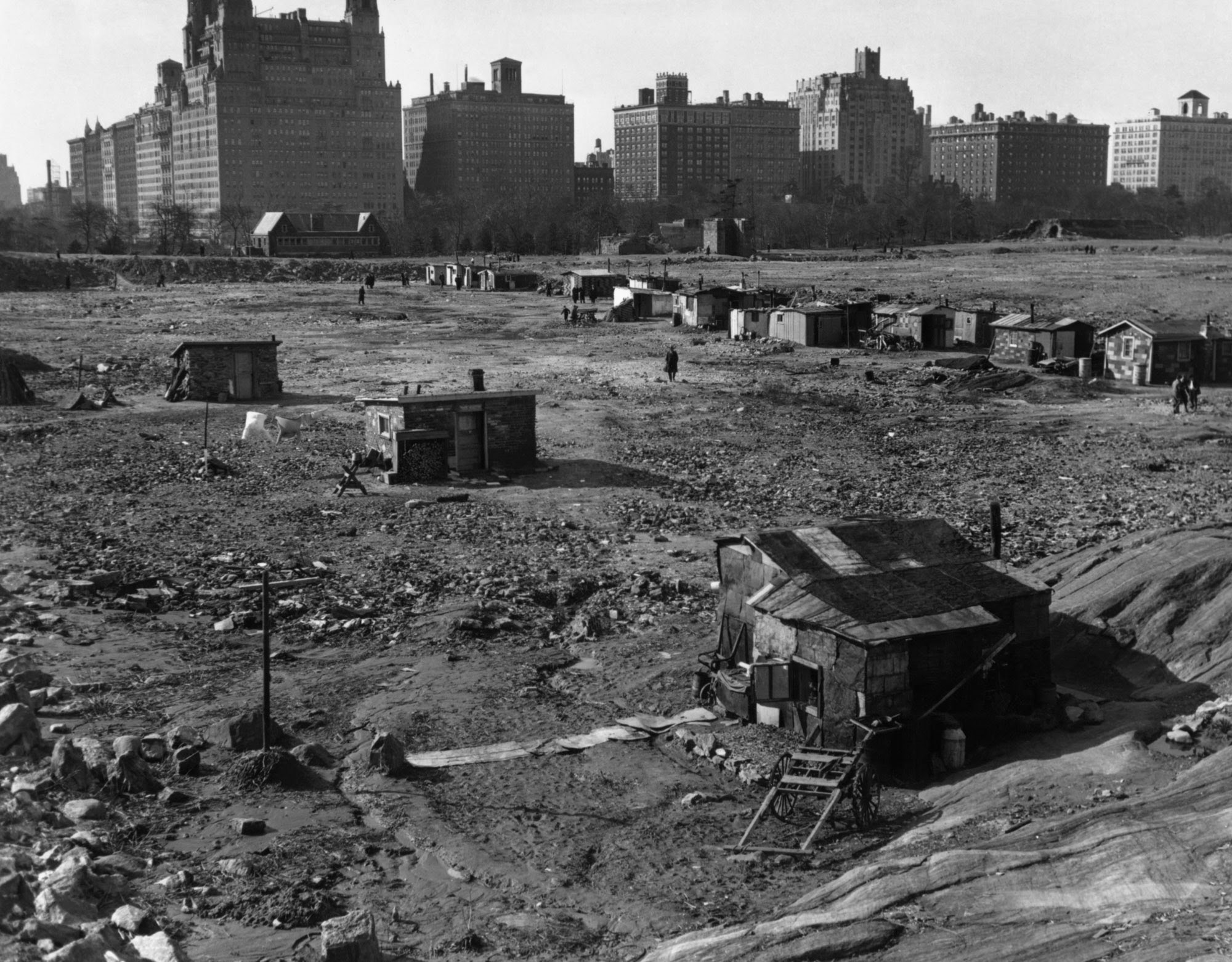 central park, central park 1930, crash, nueva york, new york