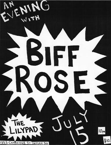 Biff Rose, Lily Pad