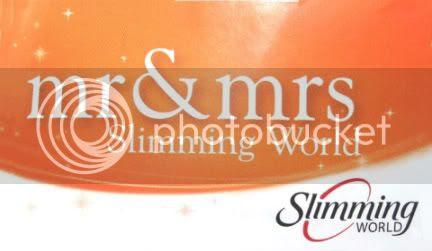 Mr & Mrs Slimming World 2009 sticker