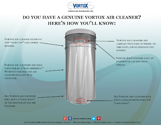 Do you have a genuine Vortox air cleaner?