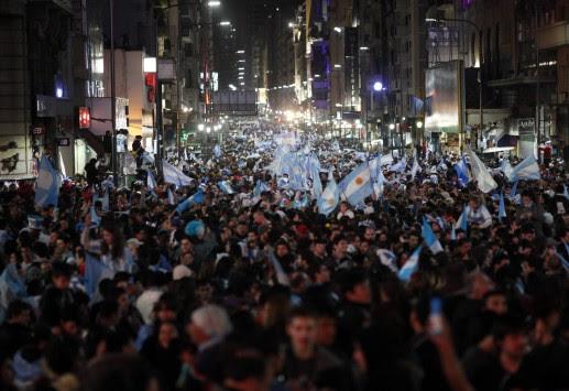 Το Μπουένος Άιρες την ώρα των πέναλτι (VIDEO)