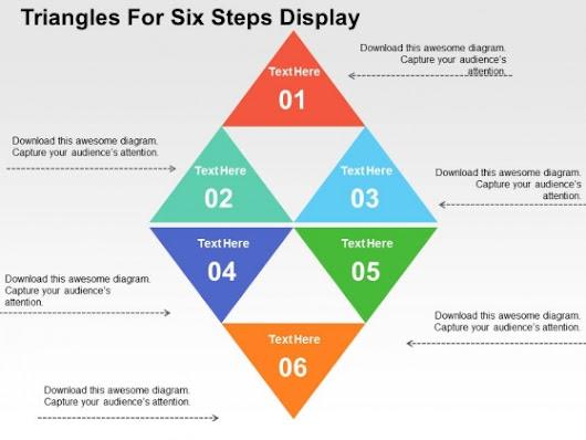 Karlene ohara google triangles for six steps display powerpoint templates toneelgroepblik Gallery
