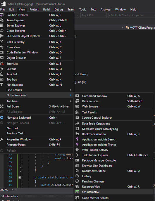 Run your C# code instantly in Visual Studio (2015 and up)