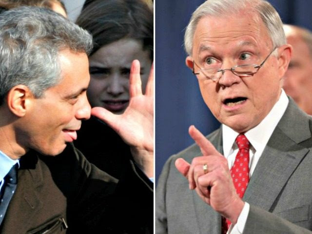 Image result for Sessions: Sanctuary city Chicago's hostility to law-enforcement protection 'astounding'