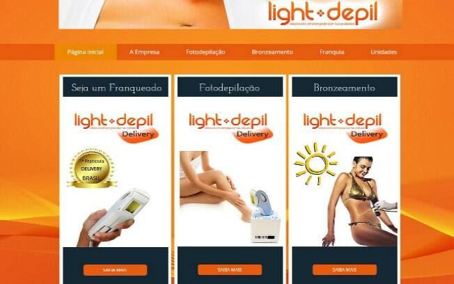A Light Depil oferece o serviço de depilação e bronzeamento no formato delivery - Valor de investimento: R$ 9,9 mil. Foto: Divulgação