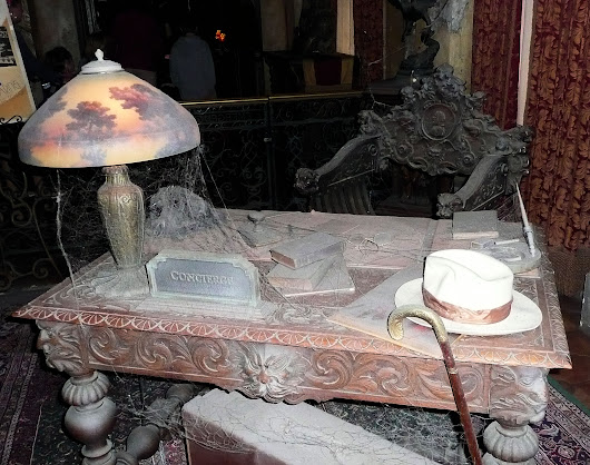The Disney Archives and Mysteries: Design Ideas for the Tower of Terror Props