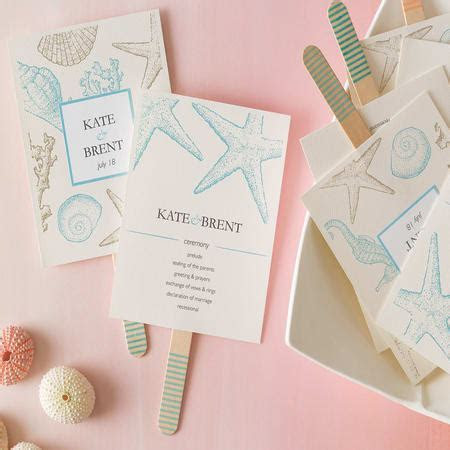 Create Your Own Wedding Programs   Avery.com