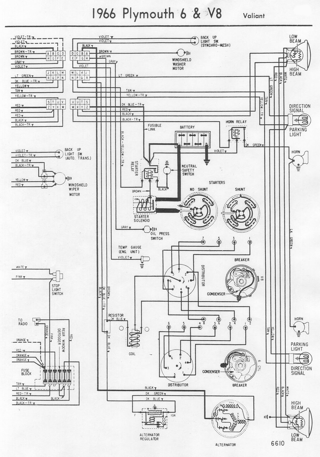 1966 Plymouth Barracuda Fuse Box Wiring Wiring Diagram Local A Local A Maceratadoc It