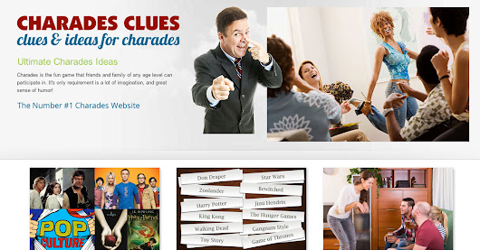 Charades Clues and Ideas. Everything you need in one place!