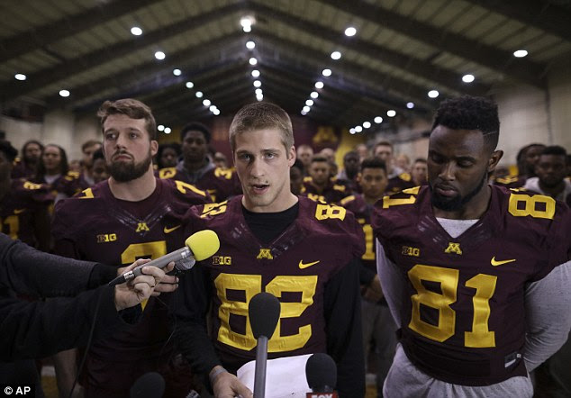 The Gophers had initially announced they planned to boycott the Holiday Bowl following their teammates' suspension, but ended it two days later following immense backlash