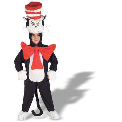 Cat in the Hat - Polar Fleece Child Costume