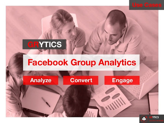 Facebook groups analytics use cases