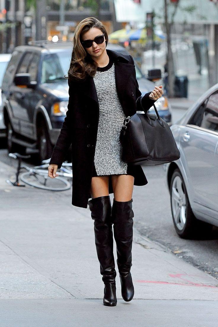 Miranda Kerr. #boots #wear