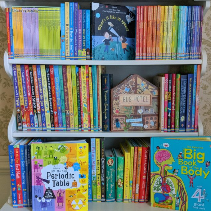 Homeschooling With Usborne Books More Feathers In Our Nest