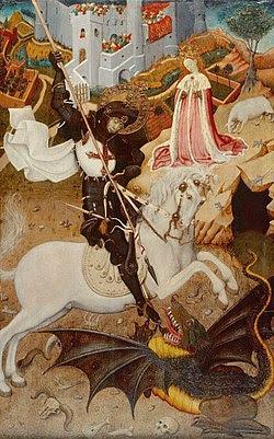 Sant Jordi de Bernat Martorell (1390-1452)