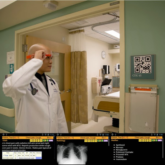 ER doctors use Google Glass and QR codes to identify patients