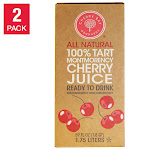 Cherry Bay Orchards Tart Cherry Juice 59 oz., 2-Pack