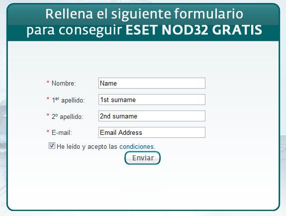 licencia key nod 32 2019
