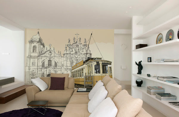 Lounge Mural Ideas