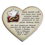 Herz Mit Spruch Gedicht Als Geschenk