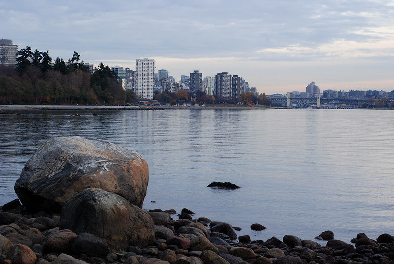 West End From Stanley Park