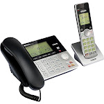 VTech CS6949 Expandable Phone System with Handset - Black/Silver