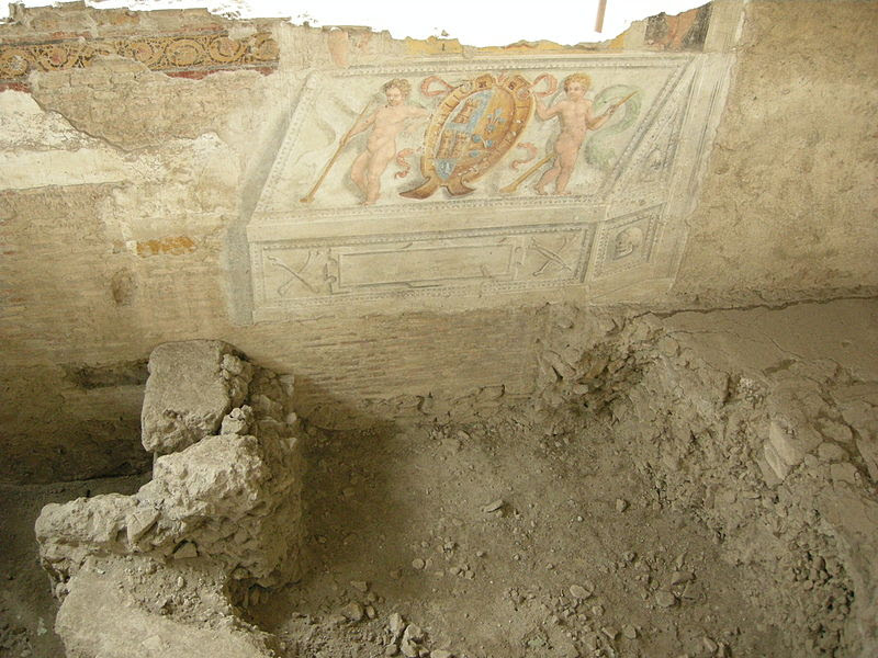 Crypta Balbi, fresker 01.jpg