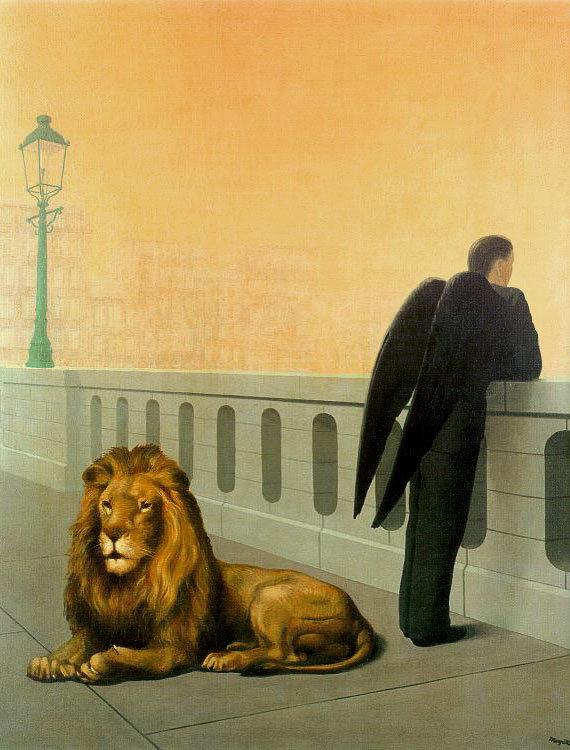 Homesickness, 1940 Rene Magritte