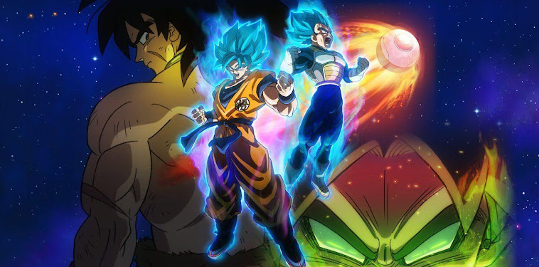 Dragon Ball Super Broly Wallpaper 5k
