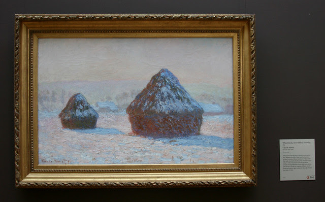 IMG_7006 Claude Monet - Wheatstacks, Snow Effects, Morning