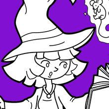halloween malvorlagen kostenlos ausdrucken jung - zeichnen und färben
