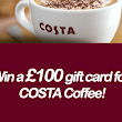 Win a £100 Costa Coffee Gift Card - Fast Free Entry UK Competitions | Competitions 4 Free