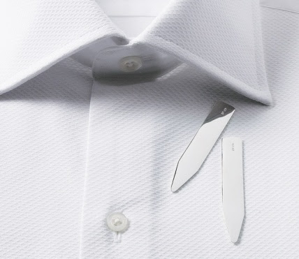 Magnetic Collar Stays | How To Keep Dress Shirt Collars In Place
