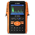 sathero sh-800hd global universal tv signal finder meter dvb-s/s2 full hd 1080p digital meter h.264 mpeg-4 with 3.5 inch lcd display 2550mah battery e
