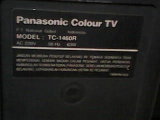 model televisi panasonic