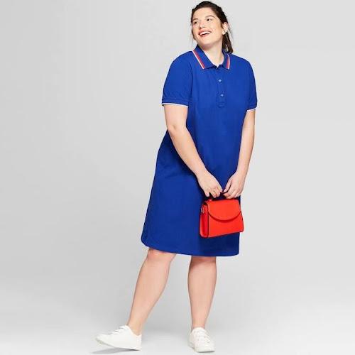 Google Express Womens Plus Size Polo T Shirt Dress Ava Viv