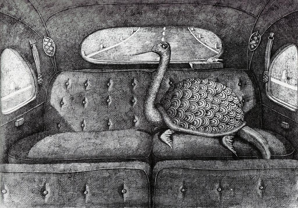 Domenico Gnoli - Modern Bestiary, 1968 (6)