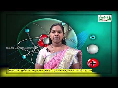 7th Science நம்மைச் சுற்றியுள்ள பருப்பொருட்கள் அலகு 3 பகுதி 3 Kalvi TV