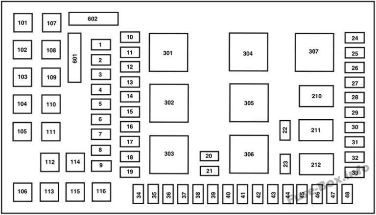 [DIAGRAM] F450 Fuse Box Diagram
