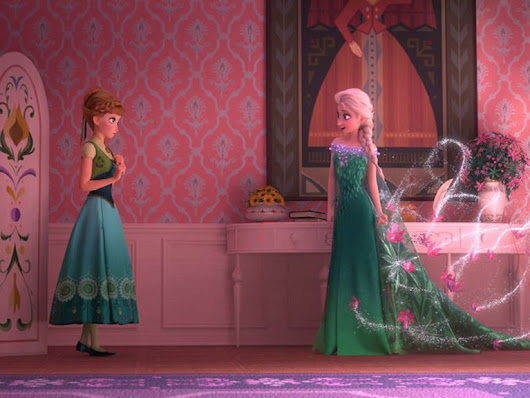 The first stills from Frozen's short sequel 'Frozen Fever' have arrived
