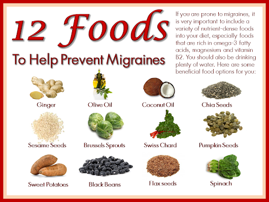 12 Best & Easily Available Foods to Eat When You Have Migraine