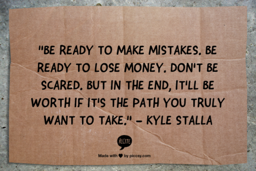 Entrepreneur Inspiration: Kyle Stalla of Stay True Clothing