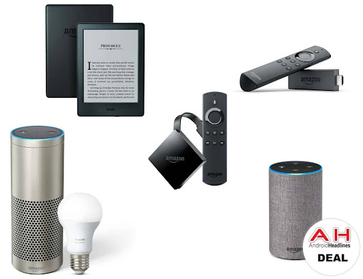 Deal: Amazon Fire TV Stick for $35, Fire Tablet for $30, Echo Plus for $120 & More – 12/11/17
