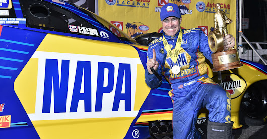 Capps, NAPA Dodge with Tobler Win Winternationals - NAPA Know How Blog